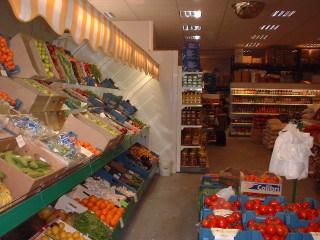 Togo Levensmiddelen: Veiling verse groenten en fruit.